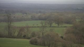 Fields near Guildford