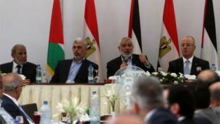 اجتمعت الحكومة الفلسطينية في قطاع غزة لأول مرة منذ سنوات
