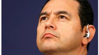 Guatemalan President Jimmy Morales