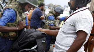 श्रीलंका में सुरक्षा व्यवस्था कड़ी कर दी गई है