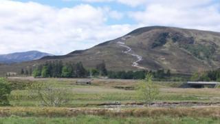 Hill tracks at Ledgowan
