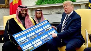 آمریکا میگوید برای مقابله با تهدید ایران به عربستان سلاح میفروشد