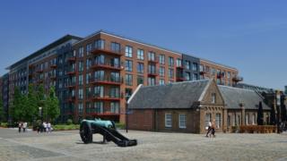 Berkeley development in Woolwich