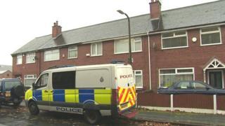police van on Crompton street