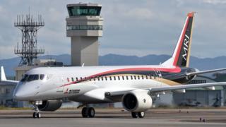 هواپیمای مسافربری ساخت شرکت میتسوبیشی