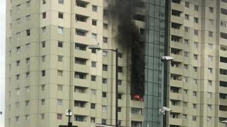 Tower block fire