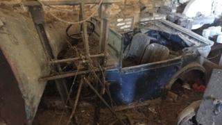 Rare Austin 7 found in a Gloucestershire barn