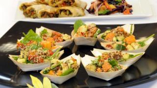 FGR vegan food options