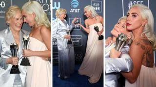 Glenn Close and Lady Gaga