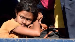 မူလနေထိုင်ရာ စစ်တွေမြို့က ဒုက္ခသည်စခန်းကို ၂၀၁၈ နိုဝင်ဘာလ ၃၀ ရက် ပြန်ပို့စဉ်