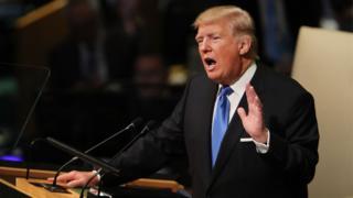UN, Trump