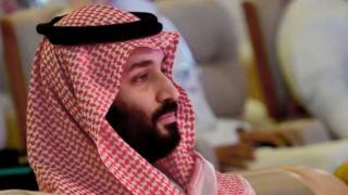 Príncipe heredero de Arabia Saudita Mohammed bin Salman