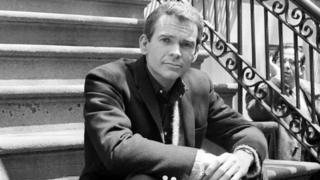 "Dean Jones, poses for a photo while on set for the Warner Bros. film, ""Any Wednesday,"" in New York. 24 May 1966"