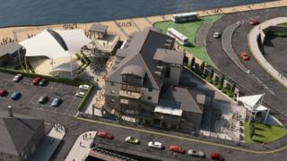 Proposed Porthcawl Harbourside development - revised 2018