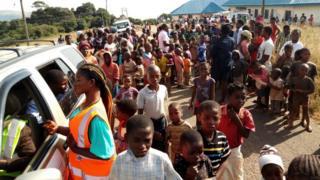 One of di refugee camp for Obudu