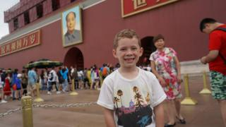 Gavin在北京天安门广场