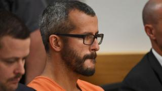 Chris Watts in court in August 2018