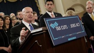 Les membres du Parti républicain au Congrès introduisent la réforme fiscale la plus ambitieuse depuis 1986.