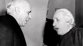 नेहरू आणि आईनस्टाईन