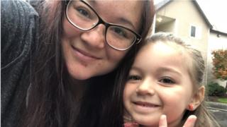 Brindi Marina, 27, was shocked to discover her daughter had just 12 minutes for lunch time at her elementary school