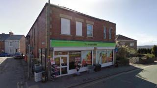 Co-op store in Snape Hill Road, Darfield.