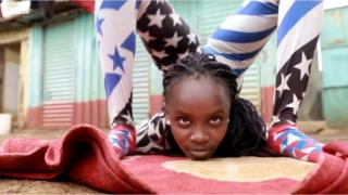 Grace Wanja dey show her talent