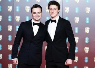 hollywood Dean-Charles Chapman and George MacKay