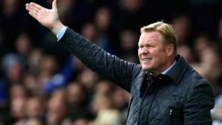 Ronald Koeman aliyefutwa kazi na Everton