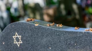 A Jewish gravestone