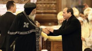 افتتاح كاتدرائية ومسجد في مصر