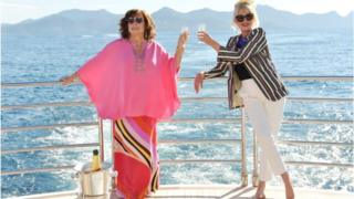 Jennifer Saunders and Joanna Lumley head to the South of France in the movie version of the sitcom