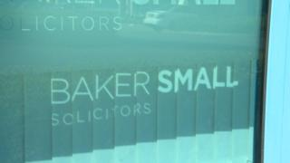 Baker Small sign