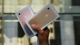 Упаковки с Iphone 7