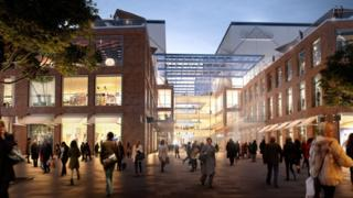 Proposed Croydon Westfield