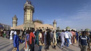 La consternation au sein de la communauté musulmane mouride à l'annonce du décès de Serigne Sidy Makhtar Mbacké
