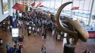 Brussels' Zaventem airport. File photo