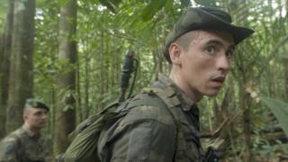 El sargento Vadim en la selva