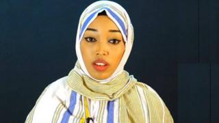 Nacima Qorane in an undated handout picture from Somaliland's Human Rights Centre