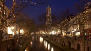 La ciudad de Utrecht, en Holanda