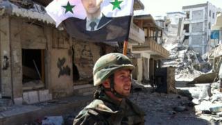 Suriye askeri