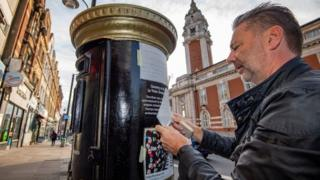 Black History Month: Postboxes painted to honour black Britons thumbnail