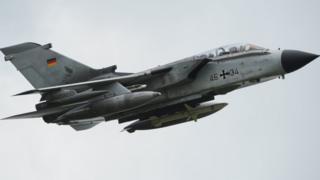 German Tornado jet, file pic