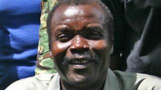 Joseph Kony, le chef de l'Armée de résistance du Seigneur, dont les membres opèrent en Ouganda, en RCA et en RDC.