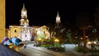 Catedral de Arequipa. (Foto: Analía Llorente)