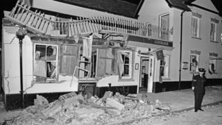 Pub wreckage