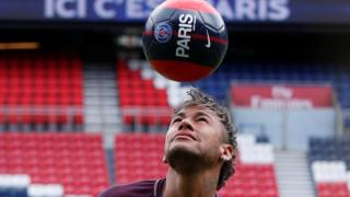 Neymar no Paris Saint-Germain