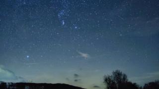 Geminid Meteor in Wales