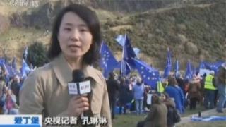 Phóng viên Trung Quốc Linlin Kong bị buộc tội tát một nhà hoạt động Anh khi tranh luận bên lề một hội nghị ở Anh