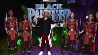 "Writer Lena Waithe at Los Angeles World Premiere of Marvel Studios"" BLACK PANTHER"