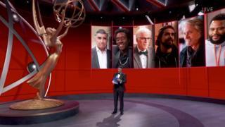 sports Jimmy Kimmel at the Primetime Emmy Awards